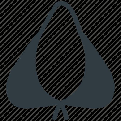 bra, brassiere, ladies undergarment, undergarment, women's accessories icon