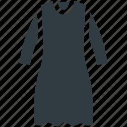 frock, party dress, swing dress, woman clothing, women dress icon