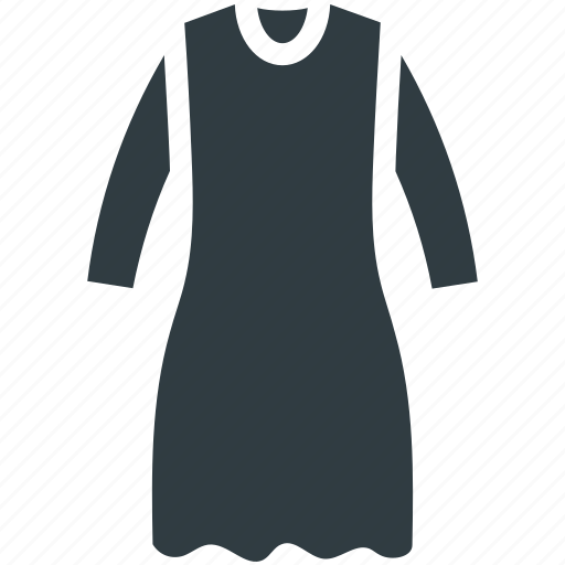 Frock, party dress, swing dress, woman clothing, women dress icon - Download on Iconfinder