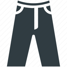bermuda shorts, pants, summer wear, trousers icon
