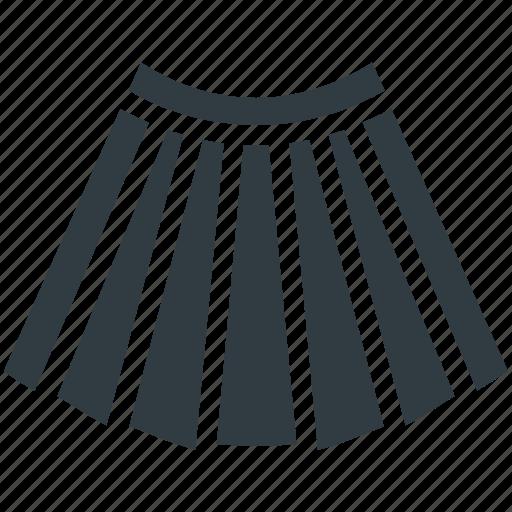 Clothing, garments, long skirt, skater skirt, skirt icon - Download on Iconfinder