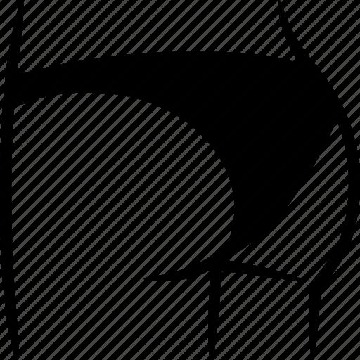 Ass, bikini, bottom, butt, buttocks, knickers, underwear icon - Download on Iconfinder