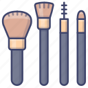 brush, brushes, cosmotic, makeup icon