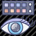 eye, eyeshadow, palette, shadow icon