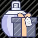 cosmetics, gift, perfume, present icon