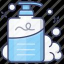 foam, lotion, shampoo, wash
