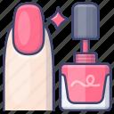 makeup, nail, paint, polish icon
