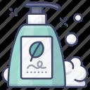 conditioner, cosmetics, shampoo, wash icon