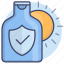 lotion, protect, sun, sunscreen icon