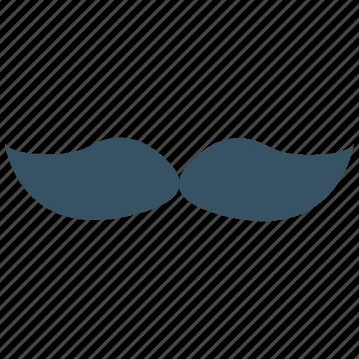 curl, facial, father, hair, moustache, mustache, twistedicon icon
