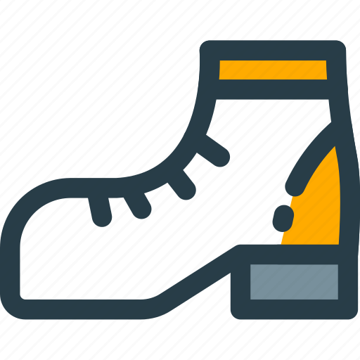 accesories, boot, clothes, clothing, footwhear, shoesicon icon
