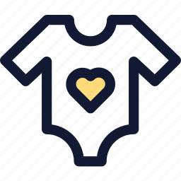 baby, clothing, shirt icon icon