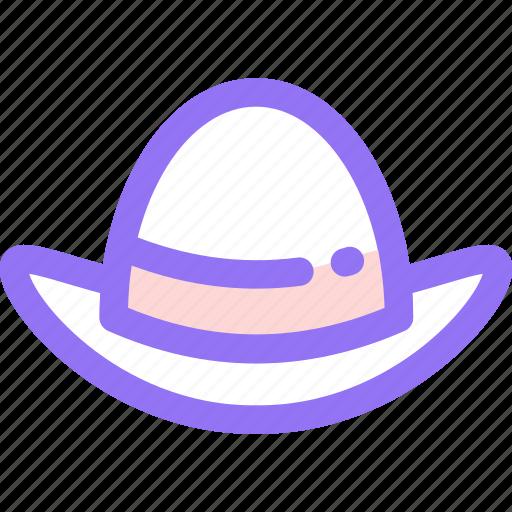 cap, fashion, hat, womanicon icon