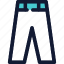 clothing, jeans, pant, trouser icon icon