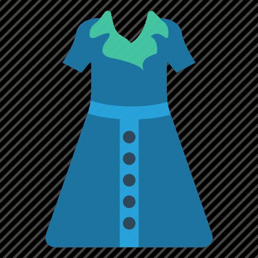 Cloth, fashion, dress, wear, suit icon
