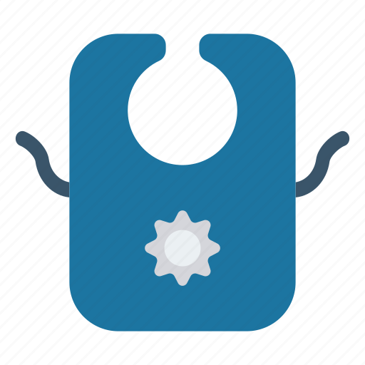 Apron, babybib, cloth, dress, wear icon - Download on Iconfinder