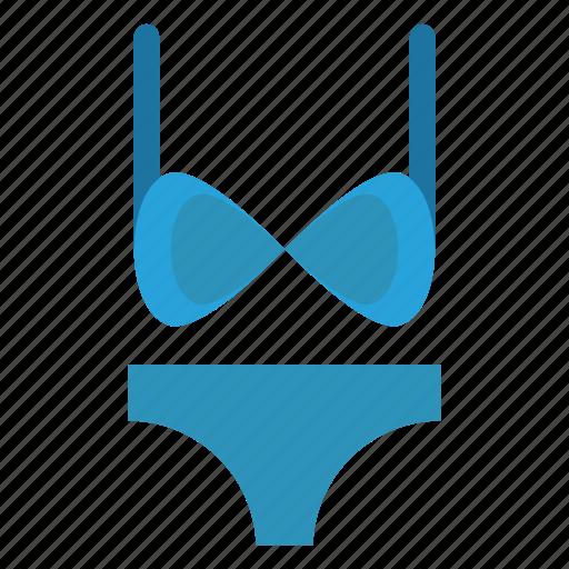 bikini, brazzer, nightie, pentie, underwear icon