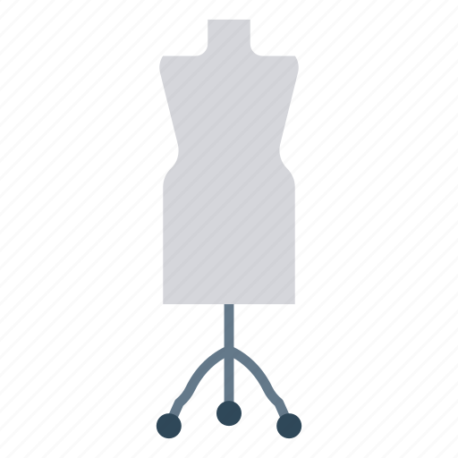 cloth, dress, shirt, stand, wear icon