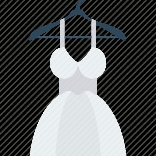cloth, dress, hanger, suit, wear icon