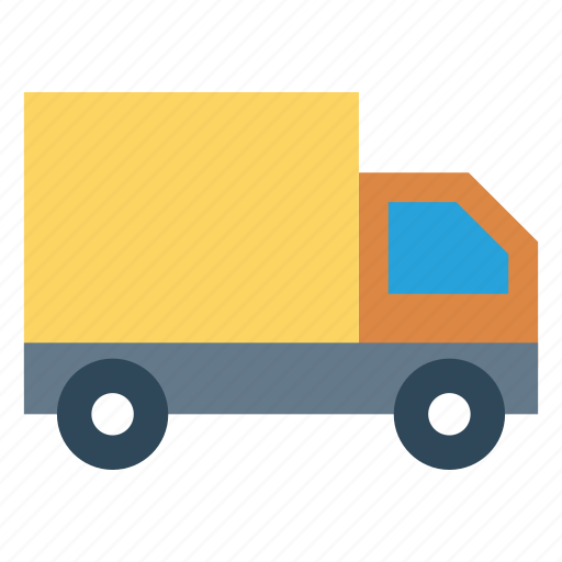 Delivery, truck, can, transport, vehicle icon