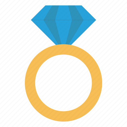 diamond, engagement, jewel, pearl, ring icon