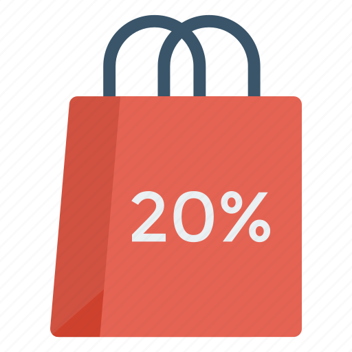bag, buying, discount, sale, shopping icon