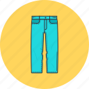 clothes, clothing, denim, fashion, jeans, shop, shopping icon
