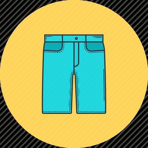 clothes, clothing, denim, fashion, shopping, shorts, tie icon