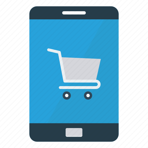 device, ecommerce, mobile, phone, shopping icon