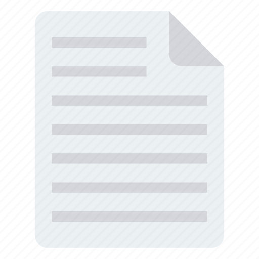 Document, file, page, paper, sheet icon - Download on Iconfinder
