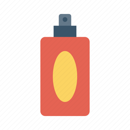 cosmetics, fragrance, perfume, scent, spray icon