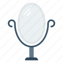beauty, furniture, interior, makeup, mirror icon