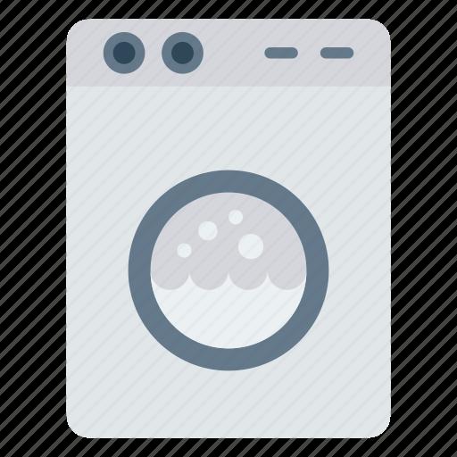 appliances, clothing, machine, washing icon