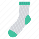 cloth, fashion, socks, wear, winter icon
