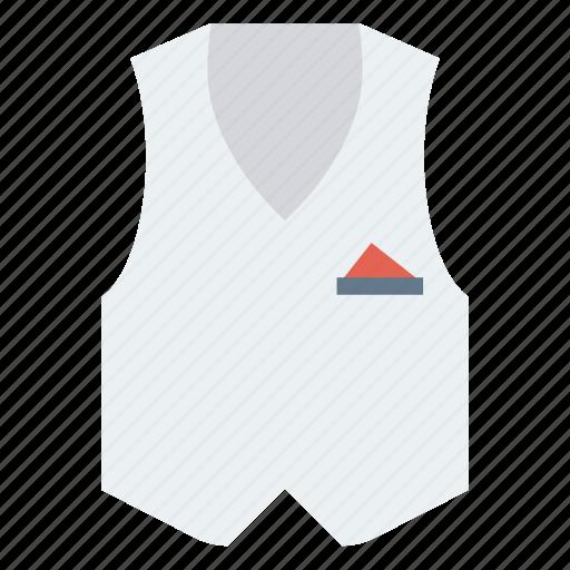 Cloth, dress, vest, waistcoat, wear icon - Download on Iconfinder