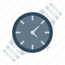 clock, fashion, time, watch, wrist icon