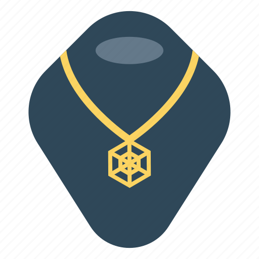 jewel, locket, necklace, pearl, showcase icon