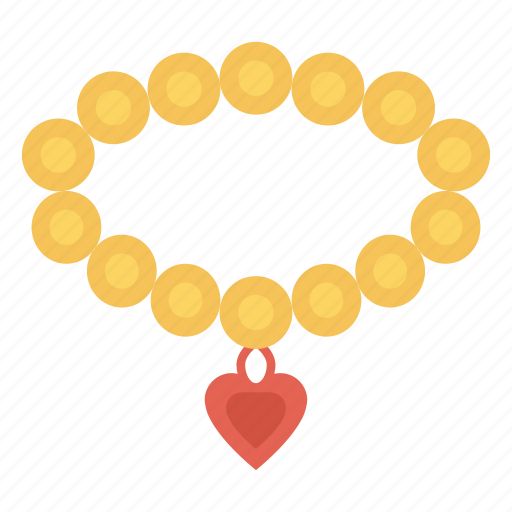diamond, jewel, locket, necklace, pearl icon