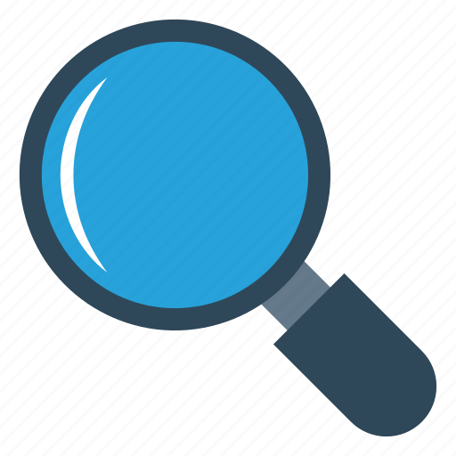 find, glass, magnifier, search, zoom icon