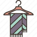 scarf, scarf icon, scarf sign icon