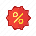 discount, outlet, tag icon