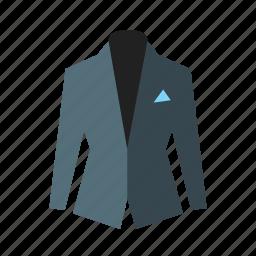 clothes, coat, elagant, formal, jacket, suit icon