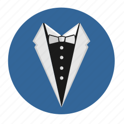 bow, code, dress, party, tie icon