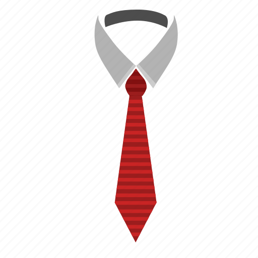 code, dress, fashion, office, shirt, tie icon
