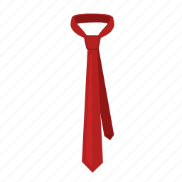 code, dress, fashion, herring, tie icon