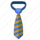 code, dress, striped, tie, wide icon