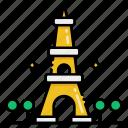 paris, france, tower