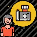 photographer, female, woman