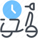 time, delivery, arrows, clocks, clock, watch, timer icon