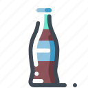 bottle, drink, fast food, pepsi, soda, water icon